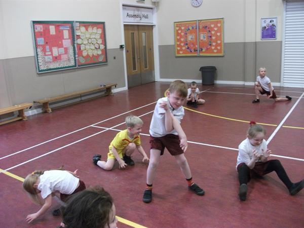 Dance Lesson Shapes