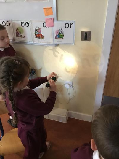 Tricky Word torches