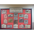 Year 5/6 Stone Age Cave Drawings