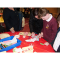 Making Easter cards at Messy Church