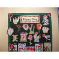 Year 3/4 Poppy art work