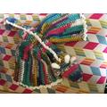 Mrs Steer's knitted dragon!
