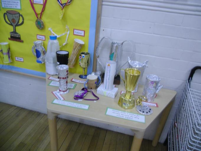 The medals and trophies looked amazing. Well done to all the children.