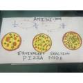Impressive Equivalent Fractions from Amitoj, 3AIR