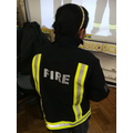 We looked at the reflective safety material