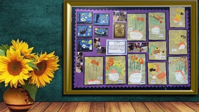 Vincent van Gogh by Nursery pupils