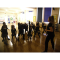 The instructor taught the children how to be creative and develop confidence through dance and role play.