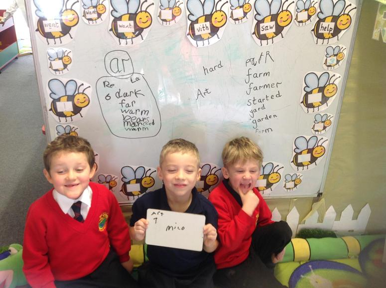 Finding 'ar' words.