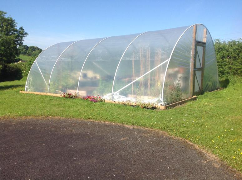 A new polytunnel