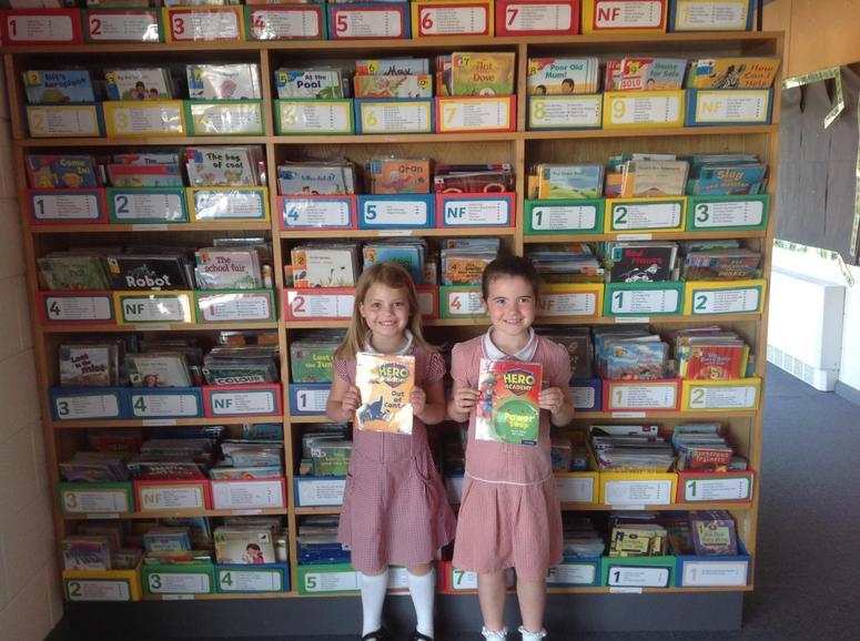 New reading books for KS1