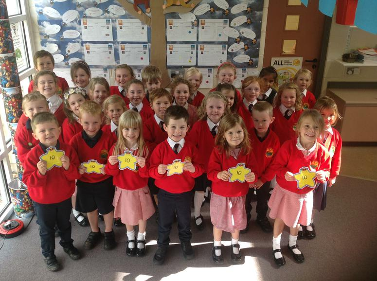 P2 won best lining up this week in school.