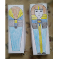 Aariz's Egyptian craft