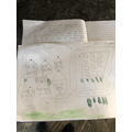 Musa's writing and map
