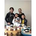 Tak's sister's birthday celebrations!