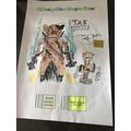 Tak's super hero bear