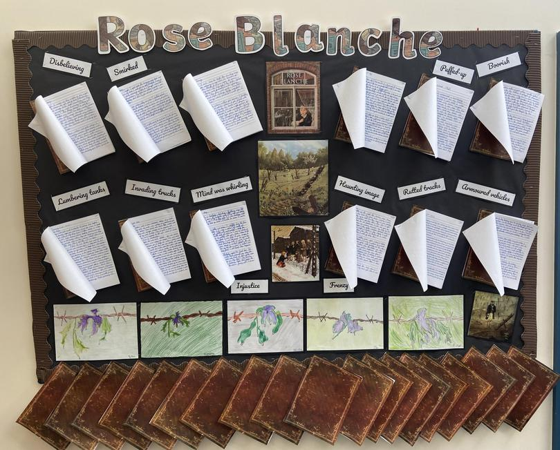 Come see our wonderful writing!
