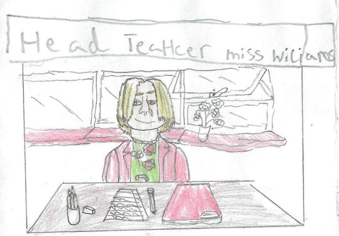 Our Headteacher by RL