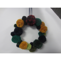 These are our finished wreaths,