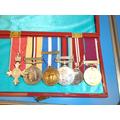 Ben's service medals.