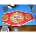 Mike Tyson's World Heavyweight Champion belt.