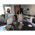 Our students making pasta bake.