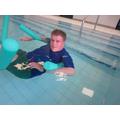 Swimming in P.E