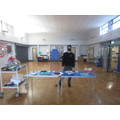 The students baked and sold buns, biscuits and cakes for Children in Need.