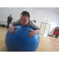 Ball skills in P.E