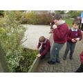 Exploring the sensory garden