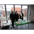 A group of Post-16 students then sold the baking to staff and students around the school.