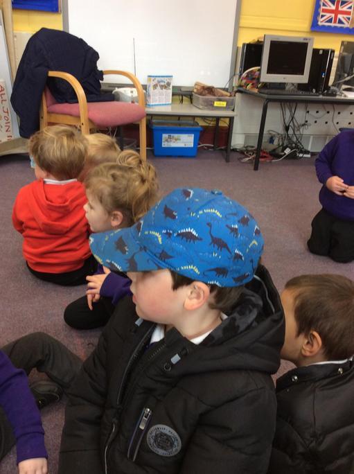 We enjoyed learning about the dinosaur.