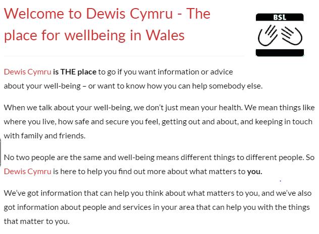 https://www.dewis.wales/home