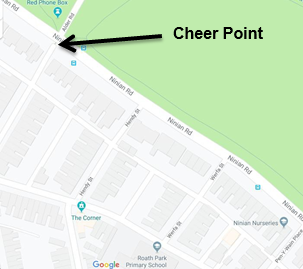 Cheer Squad meeting point
