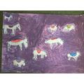 Nine Devoted Donkeys