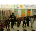 'Batman' leads the Superheros!