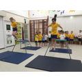 Jumping in PE