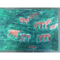 Eight Oxen Lowing
