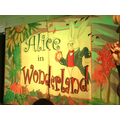 The children loved watching Alice in Wonderland.