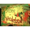 The children loved watching Alice in Wonderland