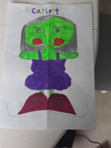 Scarlett's alien