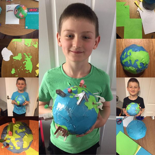 Adam's model of the Earth