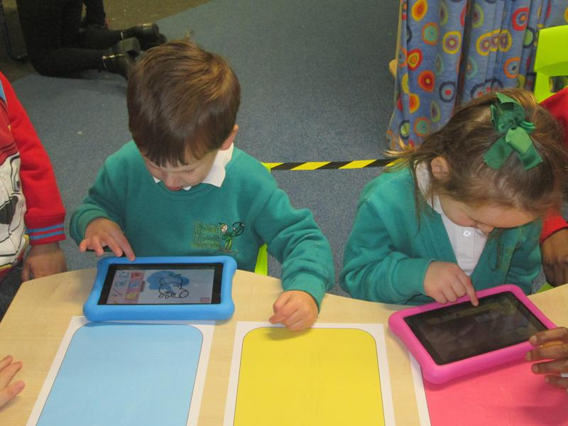 Working on our new Kindles.