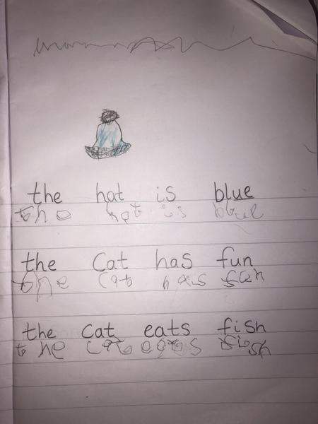Excellent sentence writing!
