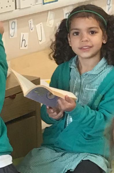 Teacher play - we love books!