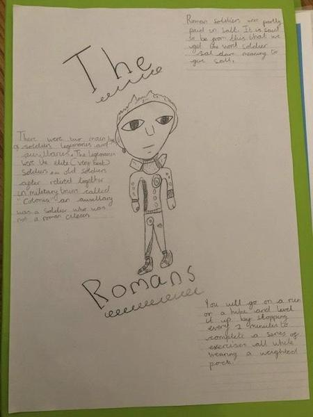 Great poster about Romans from Regan