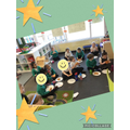 What a treat! We made our own pizza (thank you Mrs Undy for making the dough!)
