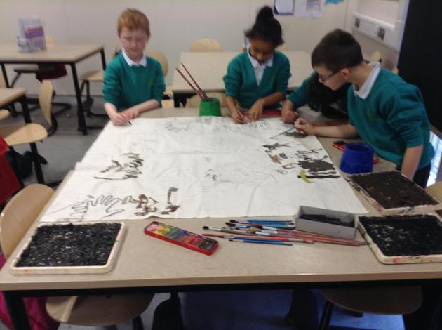 Collaborative art work!