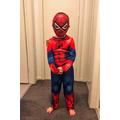 Charlie dressed as his favourite superhero Spider-Man! 😀