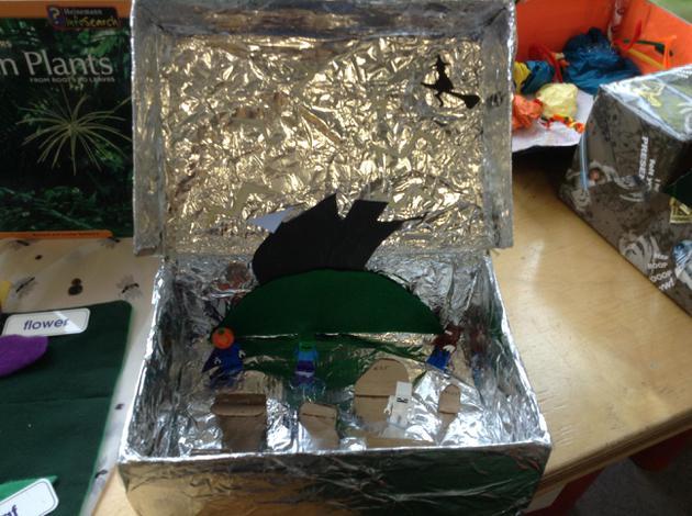Imaginary World shoe boxes!