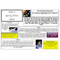 Year 5 Curriulum Overview